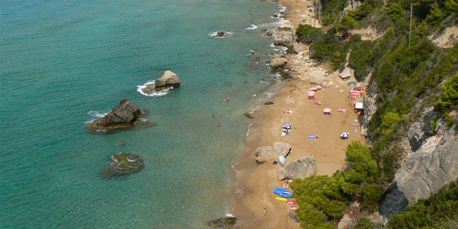 myrtiotissa beach corfu greece summer holidays